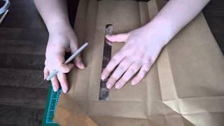 Упаковка подарков. Пакет с прозрачным окошком(Бумажный пакет с прозрачным окошком своими руками. Как креативно упаковать подарок? Легко! 20 минут, минимум..., 2015-03-16T09:47:02.000Z)