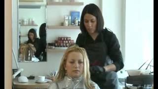 видео 3д окрашивание волос