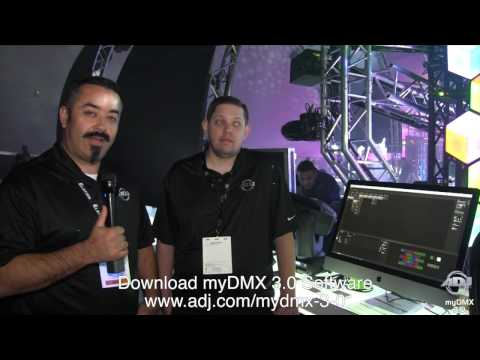 American DJ MyDmx 3.0 DMX Lighting Software & USB-DMX Interface First Look