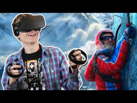 CLIMBING THE MOUNT EVEREST IN VIRTUAL REALITY | Everest VR (Oculus Touch Gameplay)
