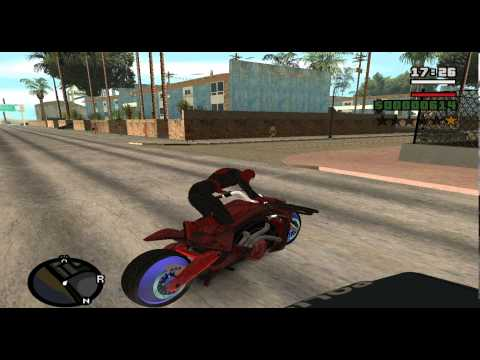 Gta San Andreas Spiderman Mod W.I.P v1.0
