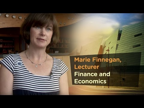 Marie Finnegan. Lecturer with Finance and Economics