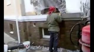 Утепление фасада. Короед. Декоративная штукатурка. Москва и обл. Утепление дома. Фасадные работы(, 2013-08-19T04:06:29.000Z)