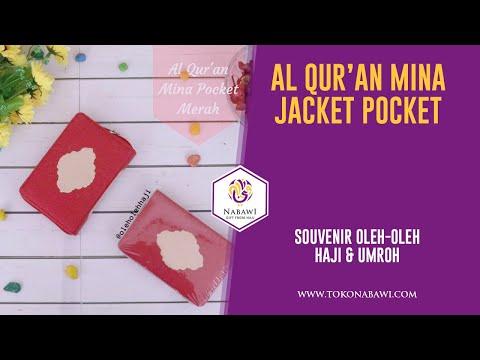 Al Quran Mina Merah Pocket Jaket GR