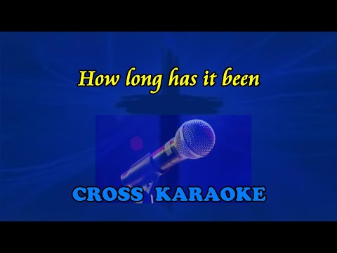 Jim Reeves - How long has it been - Karaoke backing with lyrics by Allan Saunders