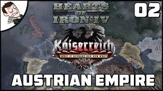 WAR WITH HUNGARY, POLAND & ITALY! Kaiserreich Alpha Campaign Part 2 (Hearts of Iron 4 Mod)