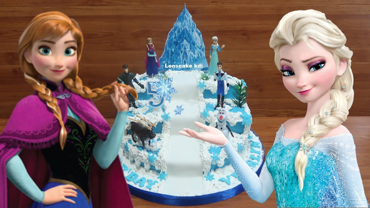 Toys Frozen How To Decorating Birthday Cake Frozen Elsa How To Make Birthday Cake Frozen Tier