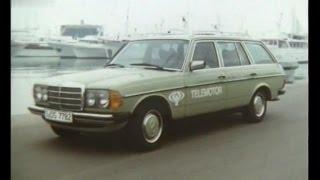 Autotest 1980 - Mercedes-Benz W123 300 TD