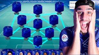 LA PLANTILLA CHAMPIONS LEAGUE (DISCARD CHALLENGE) FIFA 19