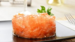 Тартар из лосося рецепт - Salmon Tartare Recipe
