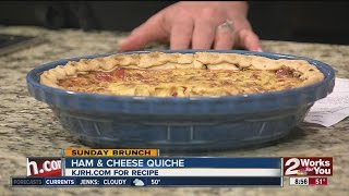 Sunday Brunch: Lean Ham And Cheese Quiche