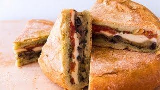 How To Make A Gardener's Sandwich - A.k.a Vegetarian Shooter's Sandwich