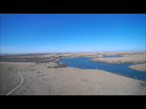 04-08-2016 Cross T Land Auction - Aerial Video #3 of 3 (2,089 Acres in Cowley Co)