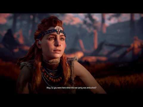 Horizon Zero DAWN gameplay part 5 , 4k enhanced graphics for PS4 pro