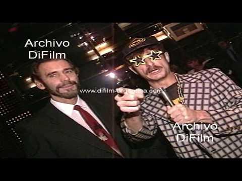Victor Bo con Luis Aranosky  Crema Americana 1992