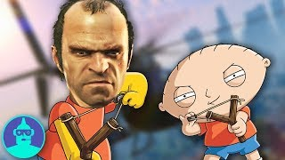 Top 12 GTA References in Pop Culture!!! (Simpsons, Chappelle's Show, SNL & more) | The Leaderboard