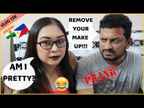 I DID MY MAKEUP HORRIBLY TO SEE HOW MY HUSBAND WOULD REACT! Filipino Indian Family Vlog #136 thumbnail