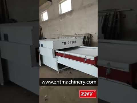 TM2480A Thermoforming Machine for PVC Panel Door ...