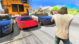 GTA 5 - Сколько пуль могут взорвать 1 машину?