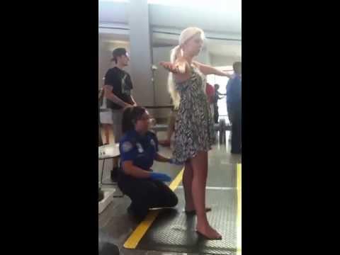 TSA Touching my butt