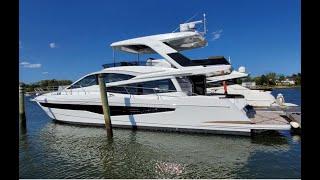 2020 Galeon 550 FLY Yacht For Sale at MarineMax Brick, NJ