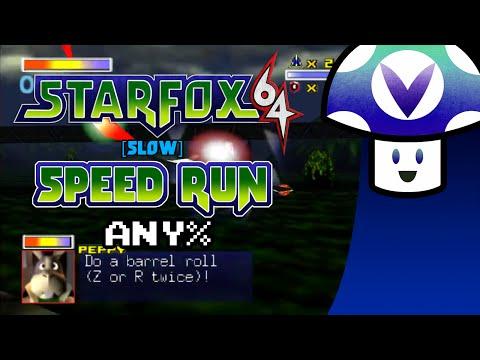 [Vinesauce] Vinny - Star Fox 64 - [Slow] Speed Run in 46:46 (Any%)