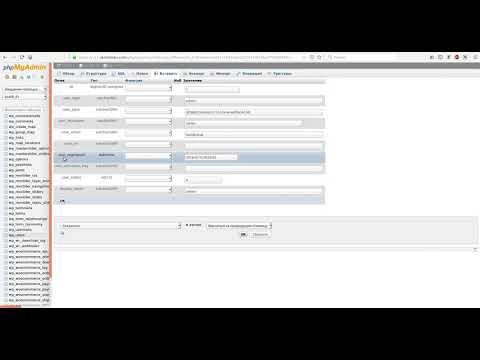 Восстановление пароля wordpress через phpmyadmin