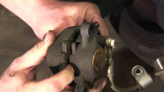 buell 1125r 1125cr rear brake pad change how to video