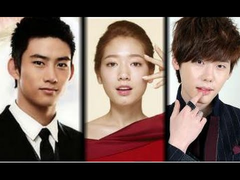 Park Shin Hye with 2PM(Taecyeon) Vs Lee Jong Suk Kiss ...