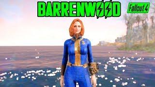 Fallout 4 - BARRENWOOD 2/2 - NEW WORLD MAP - Xbox & PC Mod