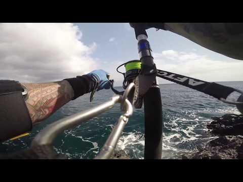 World Record Yellowfin Tuna Off The Rocks On Spin 230 lb.