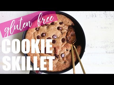 RECIPE// The Most Amazing Chocolate Chip Cookie Skillet (paleo + Dairy Free + Gluten Free)