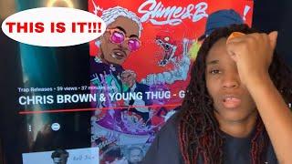 Chris brown, young thug - go crazy (audio) *reaction*