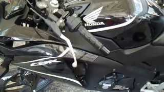Walk around Black HONDA CBR 150R 2014