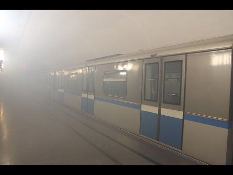 Учения МЧС на станции метро Смоленская / Teachings MOE on Smolenskaya metro station