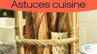 Faire une baguette de pain maison