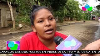 Familias del barrio San Fernando de Masaya destacan adoquinado de calles