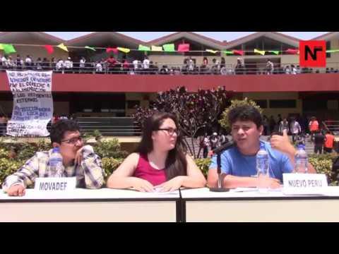 Universidad Nacional Mayor de San Marcos - Debate Movadef - Nuevo Perú