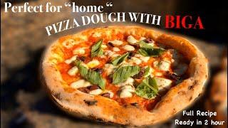 How to Make Perfect HOME Pizza With BIGA / Impasto per Casa