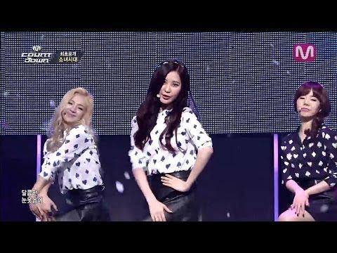 소녀시대 Wait a Minute (Wait a Minute by Girls' Generation of Mcountdown 2014.03.06)