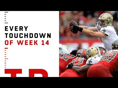 Every Touchdown from Week 14 | NFL 2018 Highlights