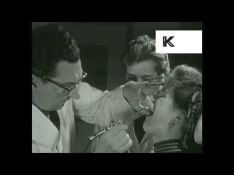 1950s Woman Visits The Dentist