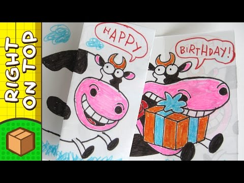 diy-birthday-card---cow-|-crafts-for-kids-on-boxyourself