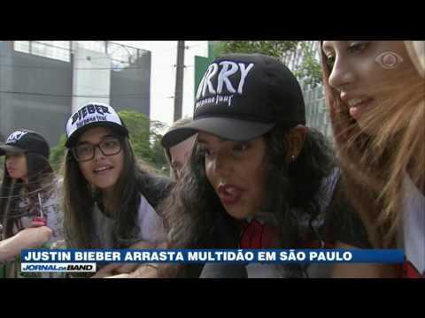 Justin Bieber faz últimos shows no Brasil