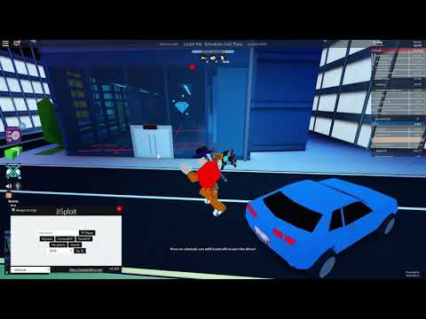 Cheating in Roblox JailBreak with JJSploit