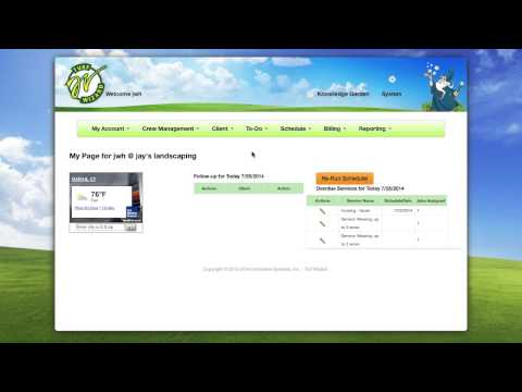 TurfWizard Intro To Scheduling & Billing Software For Landscapers
