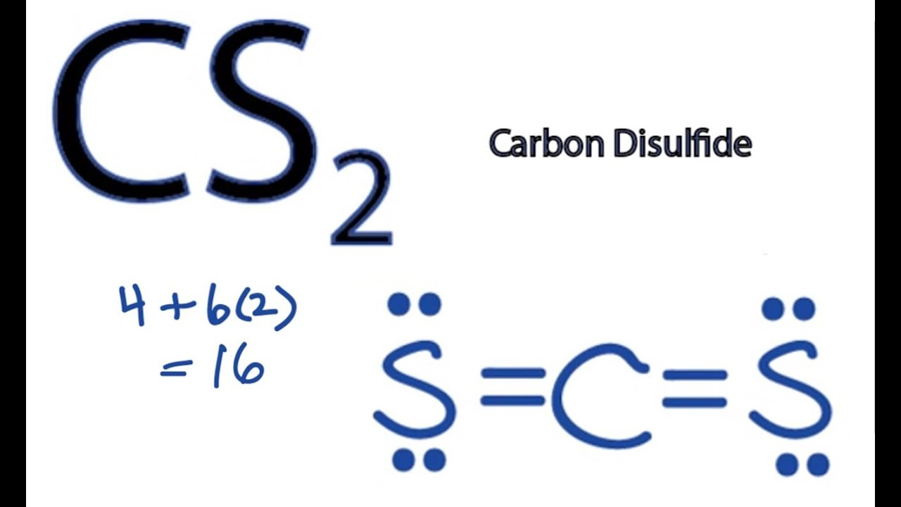 cs2 lewis structure how to draw the lewis structure for cs2 [ 1280 x 720 Pixel ]