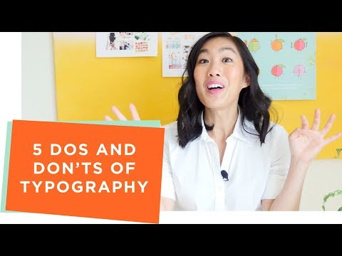 5 Dos and Don'ts of Typography