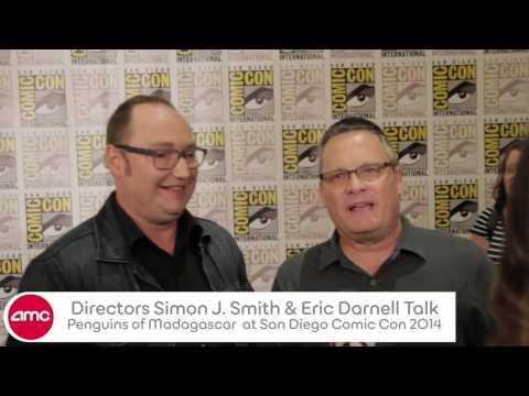 Simon J Smith & Eric Darnell Talk PENGUINS OF MADAGASCAR With AMC At SD Comic Con 2014