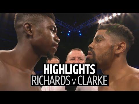 Lerrone Richards V Lennox Clarke Fight Highlights | 12 Round Back And Forth War!